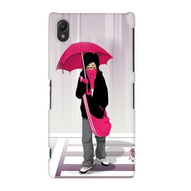 Snooky 37124 Digital Print Hard Back Case Cover For Sony Xperia Z2 - Multicolour