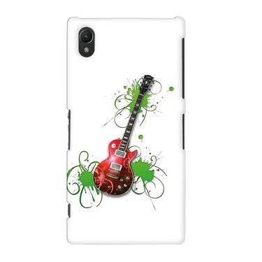 Snooky 37151 Digital Print Hard Back Case Cover For Sony Xperia Z2 - White