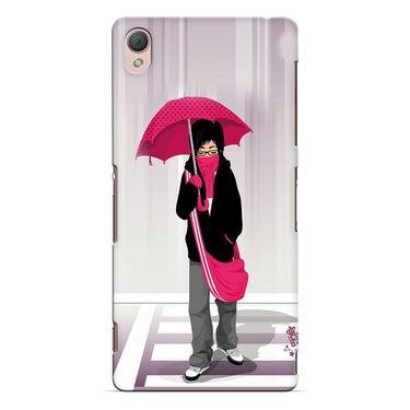 Snooky 37174 Digital Print Hard Back Case Cover For Sony Xperia Z3 - Multicolour
