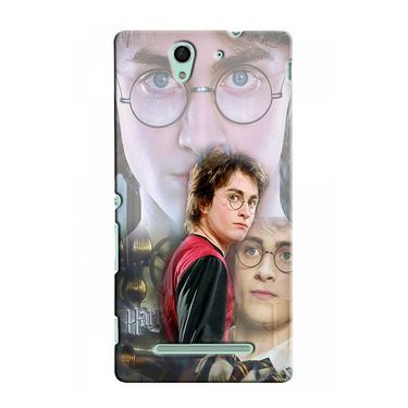 Snooky 37719 Digital Print Hard Back Case Cover For Sony Xperia C3 - Multicolour