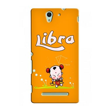 Snooky 37735 Digital Print Hard Back Case Cover For Sony Xperia C3 - Yellow