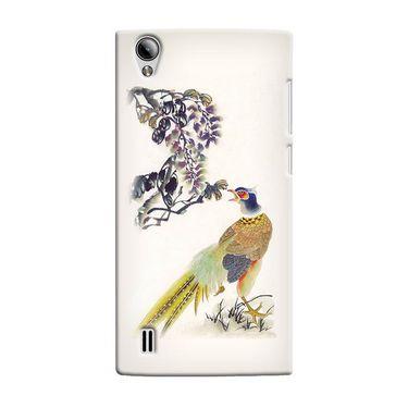 Snooky 37516 Digital Print Hard Back Case Cover For Vivo Y15 - Cream
