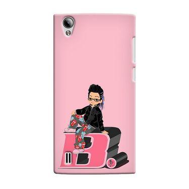 Snooky 37526 Digital Print Hard Back Case Cover For Vivo Y15 - Pink