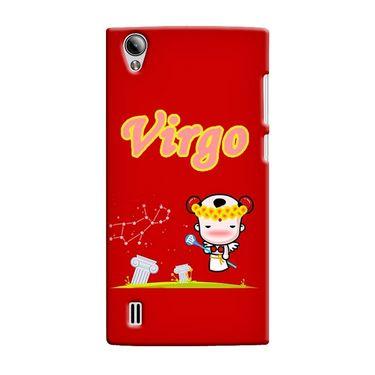 Snooky 37538 Digital Print Hard Back Case Cover For Vivo Y15 - Red