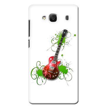 Snooky 36031 Digital Print Hard Back Case Cover For Xiaomi Redmi 2s - White