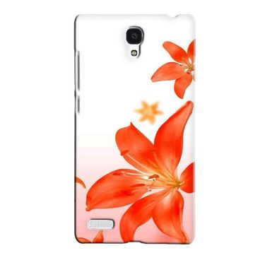 Snooky 36094 Digital Print Hard Back Case Cover For Xiaomi Redmi Note - White
