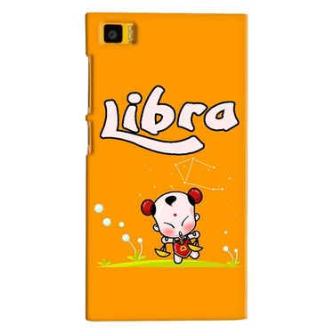 Snooky 38385 Digital Print Hard Back Case Cover For Xiaomi MI3 - Yellow