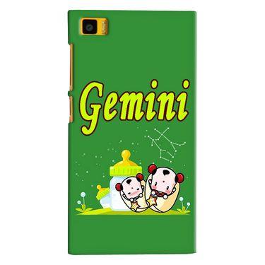 Snooky 38387 Digital Print Hard Back Case Cover For Xiaomi MI3 - Green