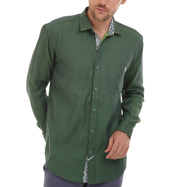 Bendiesel Plain Cotton Shirt_Bdc098 - Green