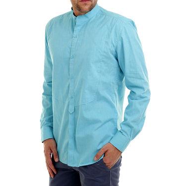 Bendiesel Plain Cotton Shirt_Bdcc021 - Light Blue