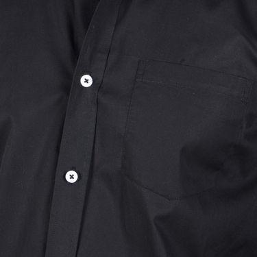 Bendiesel Plain Cotton Shirt_Bdf049 - Black