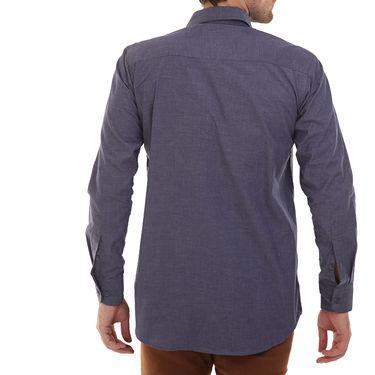 Bendiesel Plain Cotton Shirt_Bdf050 - Dark Blue