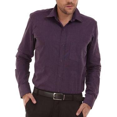 Bendiesel Plain Cotton Shirt_Bdf052 - Purple