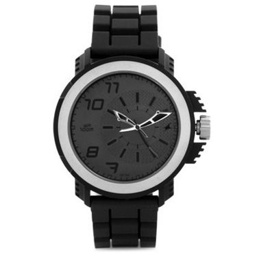 Fastrack Analog Watch_ 38015pl03 - Black