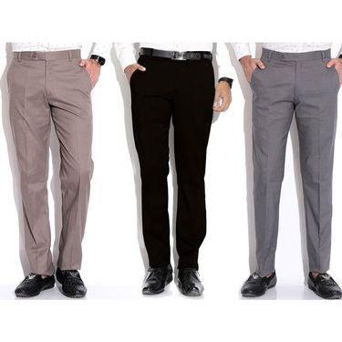Pack of 3 Fizzaro Cotton Trouser_Ft105101