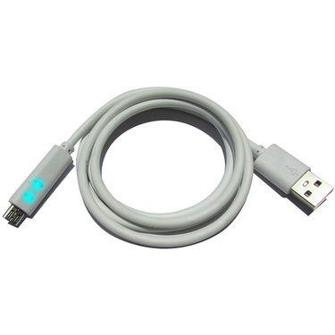 Flashmob C424CA Premium Micro USB and Data Sync Cable - White