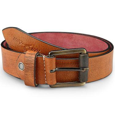 Pin Buckle Casual Belt_Rb030 - Tan
