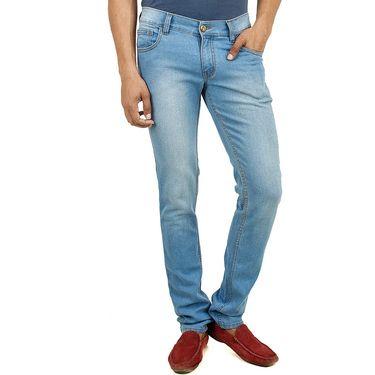 Cotton Jeans For Men_Dl2005 - Light Blue