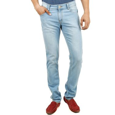 Cotton Jeans For Men_Di2009 - Sky Blue