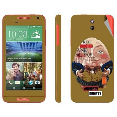 Snooky 28085 Digital Print Mobile Skin Sticker For HTC Desire 610 - multicolour