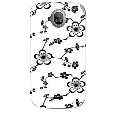 Snooky 40327 Digital Print Mobile Skin Sticker For Micromax Ninja A89 - Pink
