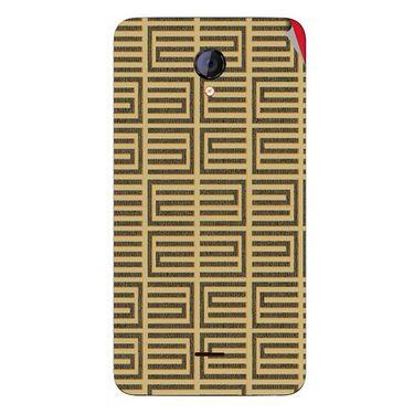 Snooky 40420 Digital Print Mobile Skin Sticker For Micromax Unite 2 A106 - Brown