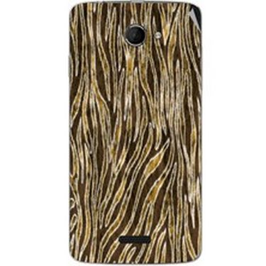Snooky 40433 Digital Print Mobile Skin Sticker For Micromax Canvas Elanza 2 A121 - Brown