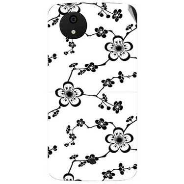 Snooky 40482 Digital Print Mobile Skin Sticker For Micromax Android One - White