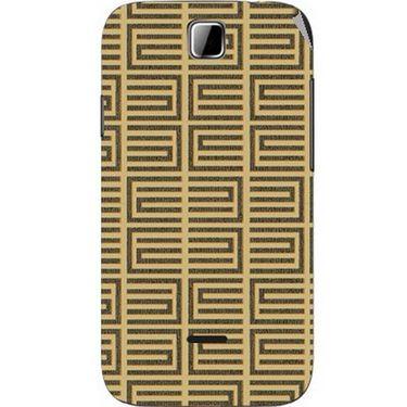 Snooky 40490 Digital Print Mobile Skin Sticker For Micromax Ninja 3.5 A54 - Brown