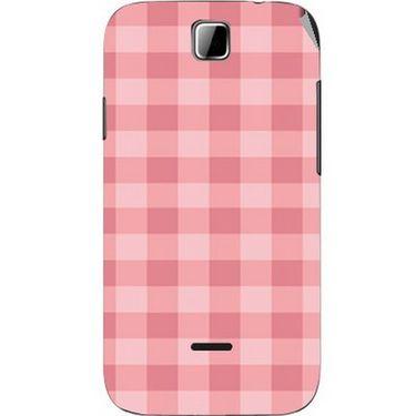 Snooky 40492 Digital Print Mobile Skin Sticker For Micromax Ninja 3.5 A54 - Pink