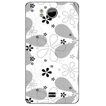 Snooky 40610 Digital Print Mobile Skin Sticker For Micromax Canvas Doodle A111 - White