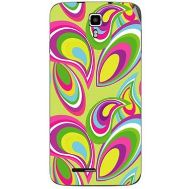 Snooky 40659 Digital Print Mobile Skin Sticker For Micromax Canvas Juice A177 - multicolour