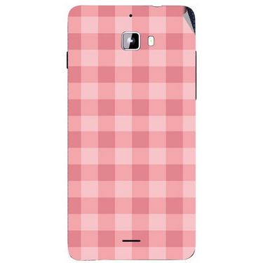 Snooky 40730 Digital Print Mobile Skin Sticker For Micromax Canvas Nitro A310 - Pink