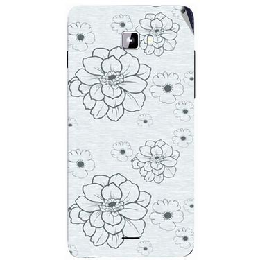 Snooky 40749 Digital Print Mobile Skin Sticker For Micromax Canvas Nitro A311 - Grey