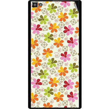 Snooky 40796 Digital Print Mobile Skin Sticker For XOLO 8X 1000 Hive - White