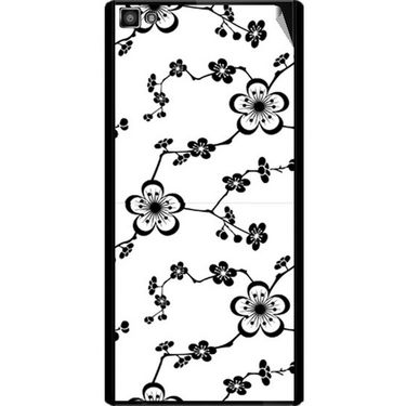 Snooky 40804 Digital Print Mobile Skin Sticker For XOLO 8X 1000 Hive - White
