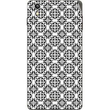 Snooky 40920 Digital Print Mobile Skin Sticker For XOLO A1010 - White