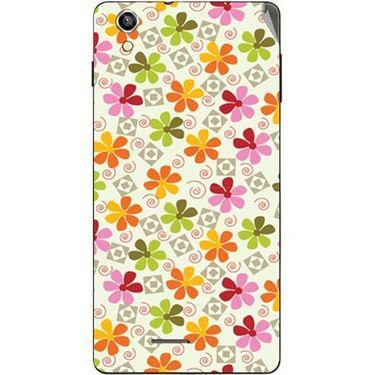 Snooky 40922 Digital Print Mobile Skin Sticker For XOLO A1010 - White