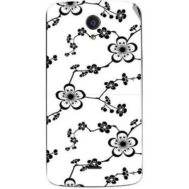 Snooky 40944 Digital Print Mobile Skin Sticker For XOLO Omega 5.0 - White
