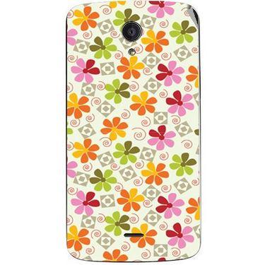 Snooky 40950 Digital Print Mobile Skin Sticker For XOLO Omega 5.5 - White