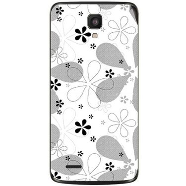 Snooky 41030 Digital Print Mobile Skin Sticker For XOLO Q700 - White