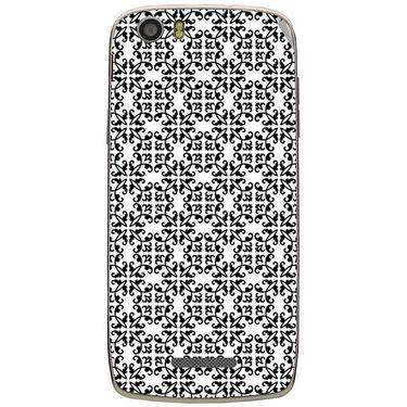 Snooky 41032 Digital Print Mobile Skin Sticker For XOLO Q700S - White
