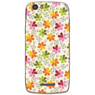 Snooky 41034 Digital Print Mobile Skin Sticker For XOLO Q700S - White