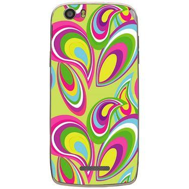 Snooky 41037 Digital Print Mobile Skin Sticker For XOLO Q700S - multicolour