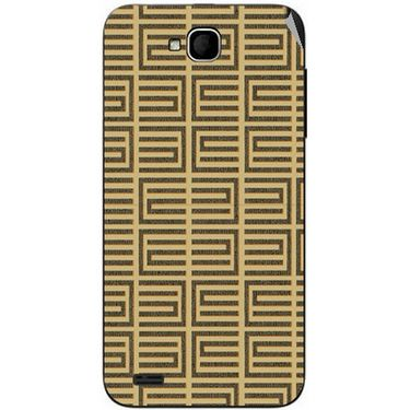 Snooky 41050 Digital Print Mobile Skin Sticker For XOLO Q800 - Brown
