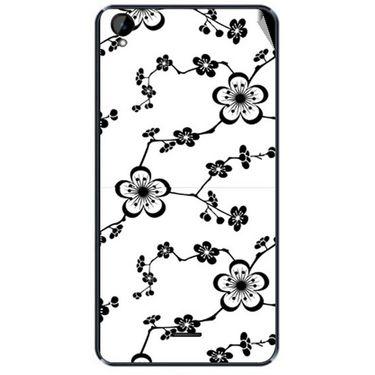 Snooky 41168 Digital Print Mobile Skin Sticker For XOLO Q2000L - White