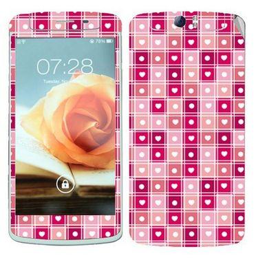 Snooky 41335 Digital Print Mobile Skin Sticker For OPPO N1 - Pink