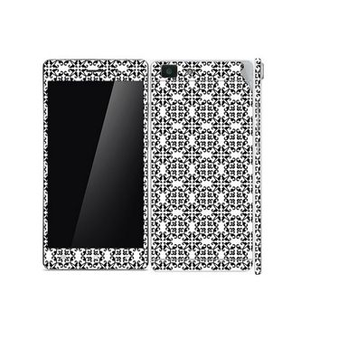 Snooky 41354 Digital Print Mobile Skin Sticker For OPPO R5 - White