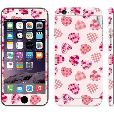 Snooky 41544 Digital Print Mobile Skin Sticker For Apple Iphone 6 - White
