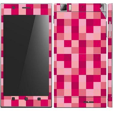 Snooky 41627 Digital Print Mobile Skin Sticker For Lenovo K900 - Purple